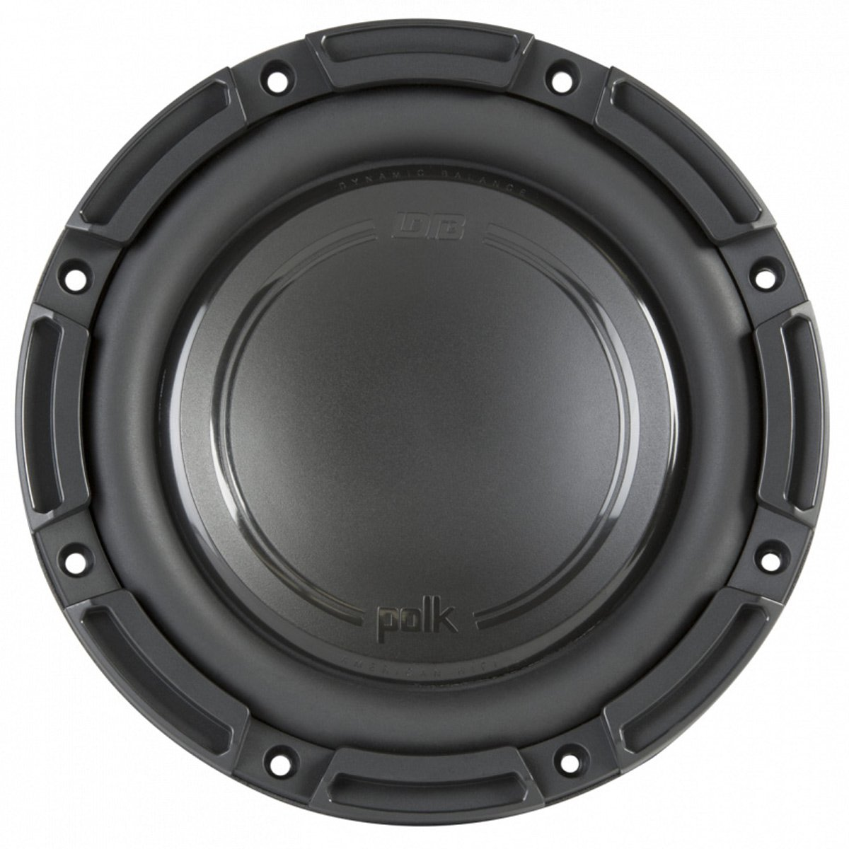 Polk Audio DB+ 8 Inch 750 Watt 4 Ohm DVC Marine, ATV & Car Subwoofer | DB842DVC