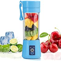 Mini Portable Blender,Personal Blender Small Fruit Mixer Electric USB Rechargeable Juicer Cup Fruit Mixing Machine Home…