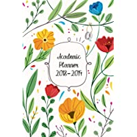 Academic Planner 2018-2019: Two Year Planner| 24 Month ( Daily Weekly And Monthly Calendar ) For Agenda Schedule Organizer   Logbook and Journal ... Planners) | Floral Fun Cover: Volume 3