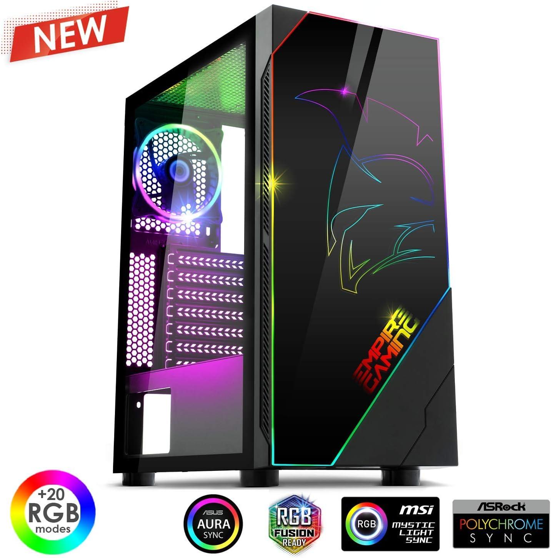 EMPIRE GAMING – Caja PC Gamer Spartan ARGB Torre Mediana ATX ...