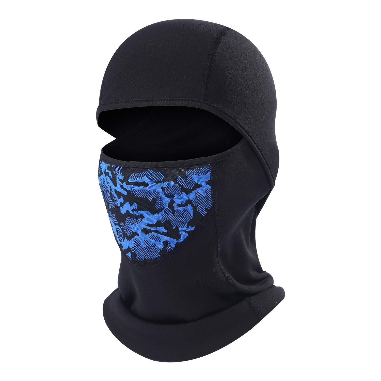 AIWOLU Cold Weather Ski Face Mask for Men Thermal Fleece Balaclava Hood for Skiing, Snowboard, Snowmobile, Motorcycle, Walking and More Outdoor Sports by AIWOLU