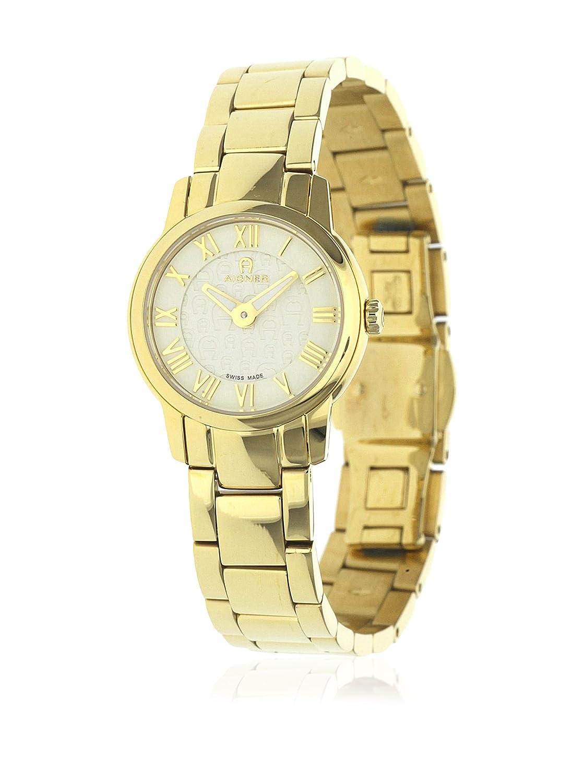 Aigner Damen Uhr Armbanduhr Padua goldfarben A24218