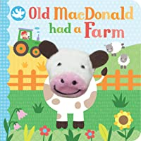 Old Macdonald Had a Farm (Finger Puppet Book) (Finger Puppet Board Book)