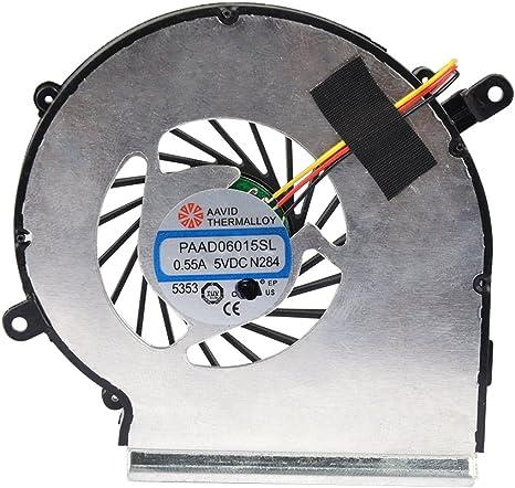 Eathtek repuesto GPU ventilador de refrigeración para MSI GE62 ...