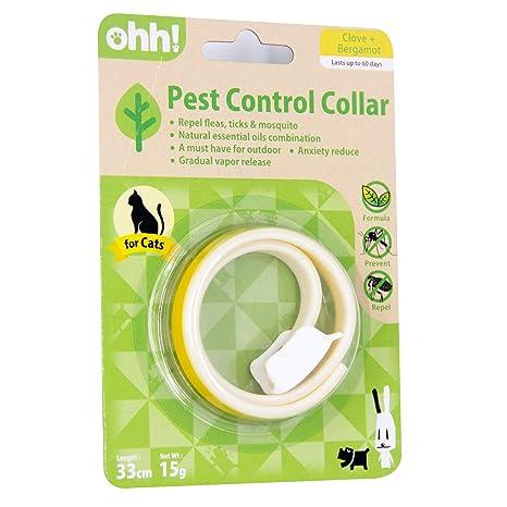 ohh! Collar de protección contra pulgas y garrapatas para ...