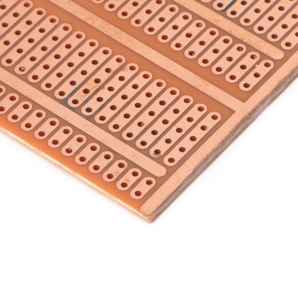 Kalttoy 10 Pcs 5x95cm Diy Prototype Paper Pcb Universal Experiment Matrix Circuit Board