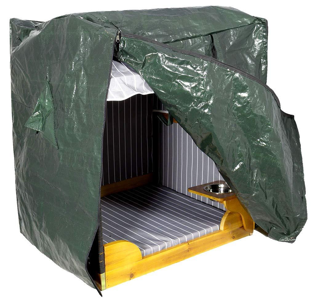 COOLMINIPRIX – Juego de 6 – Funda de Protección para Abrigo Cabina Báltico Verde – Calidad