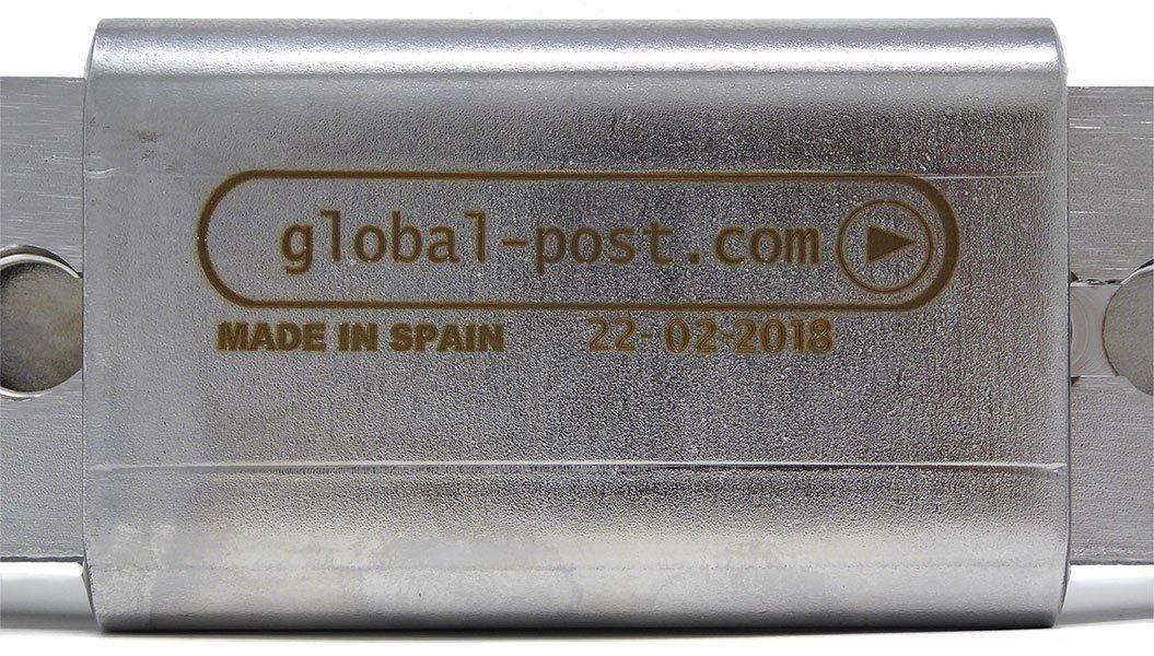 Cerradura Seguridad para Contenedores en Acero Inoxidable de M/áxima Calidad y Fabricada en Europa
