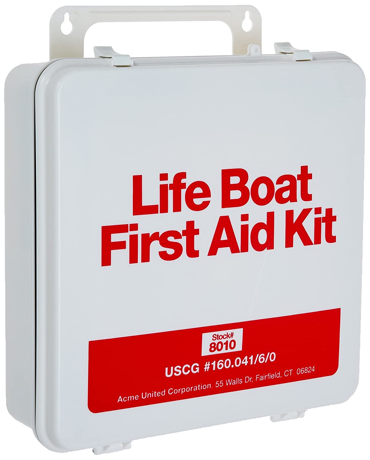 Pac Kit By First Aid Only 8010 135 Piece Us Coast Guard Fairfield Ct Mount Tv On Wall Home Theater Installation Life Boat In Weatherproof Waterproof Plastic Case For 25 People