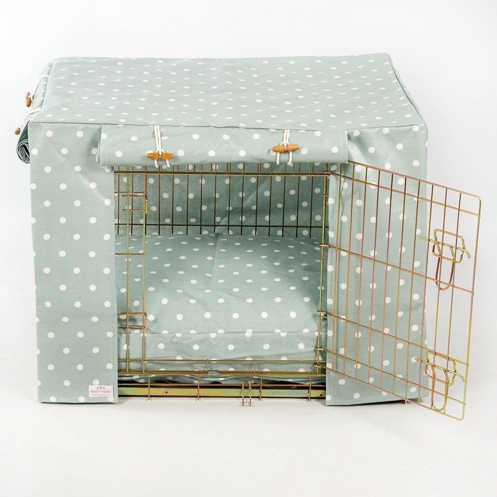 Hidey-Hidey dragée spot en toile cirée Cage Coque pour s'adapter au Ellie-Bo caisses et caisses de chien de taille similaire