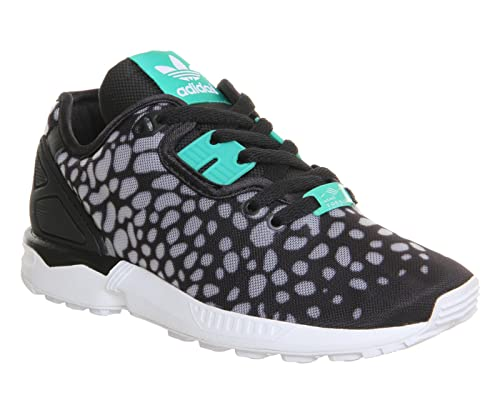 adidas Zapatillas ZX Flux Decon Negro/Verde/Gris EU 37 1/3 (