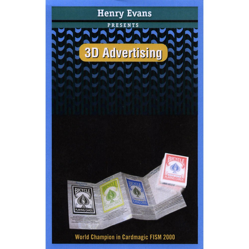 MMS 3D Advertising by Henry Evans - Trick by MMS