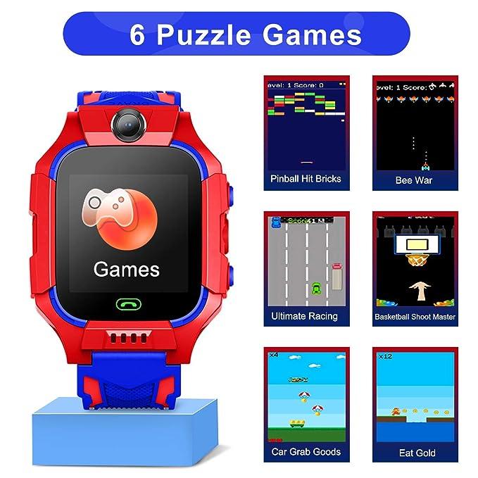 Amazon.com: YENISEY - Reloj inteligente para niños, con ...