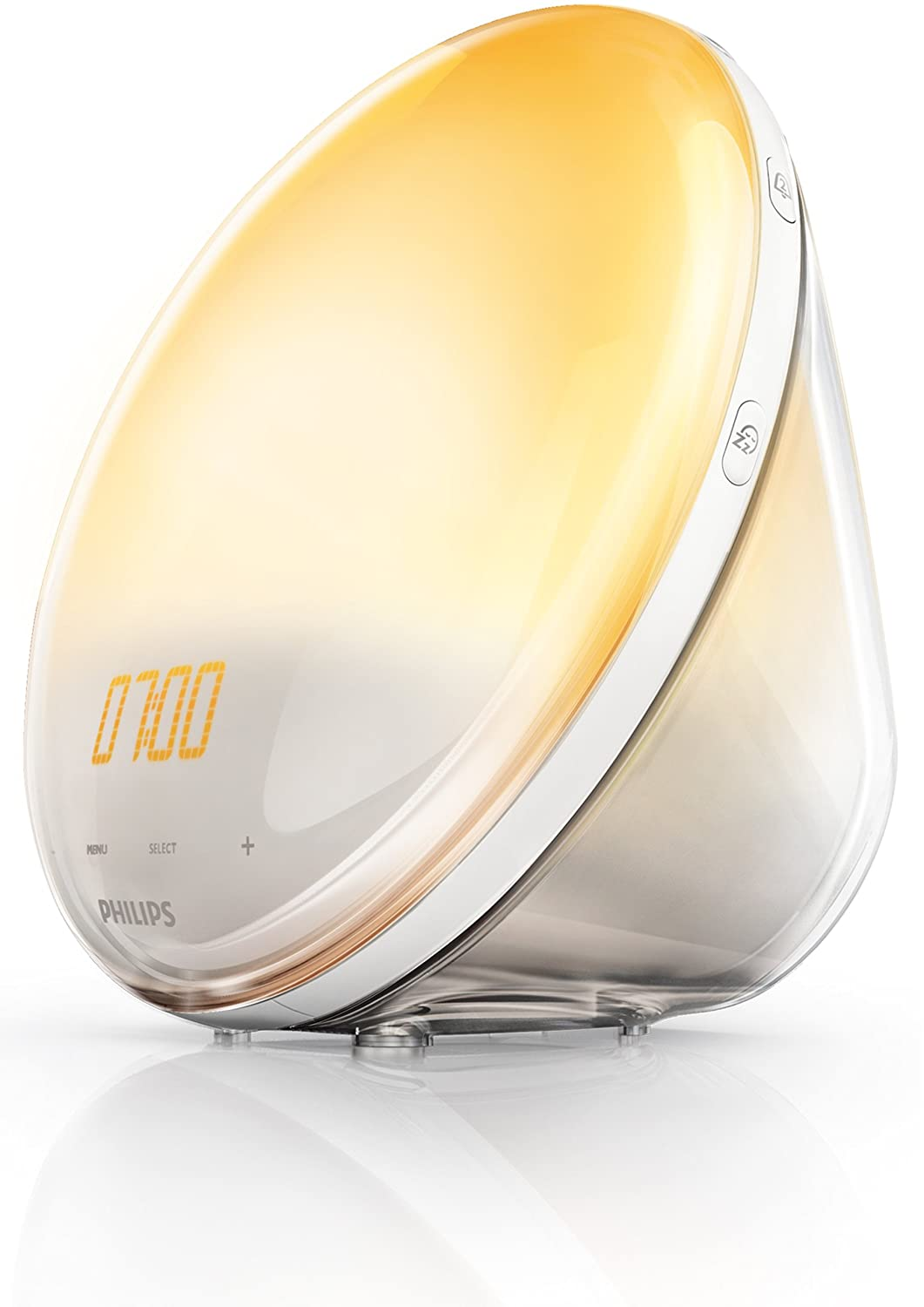 Philips Wake Up Light HF Despertador con sonidos naturales sistema autoajustable de
