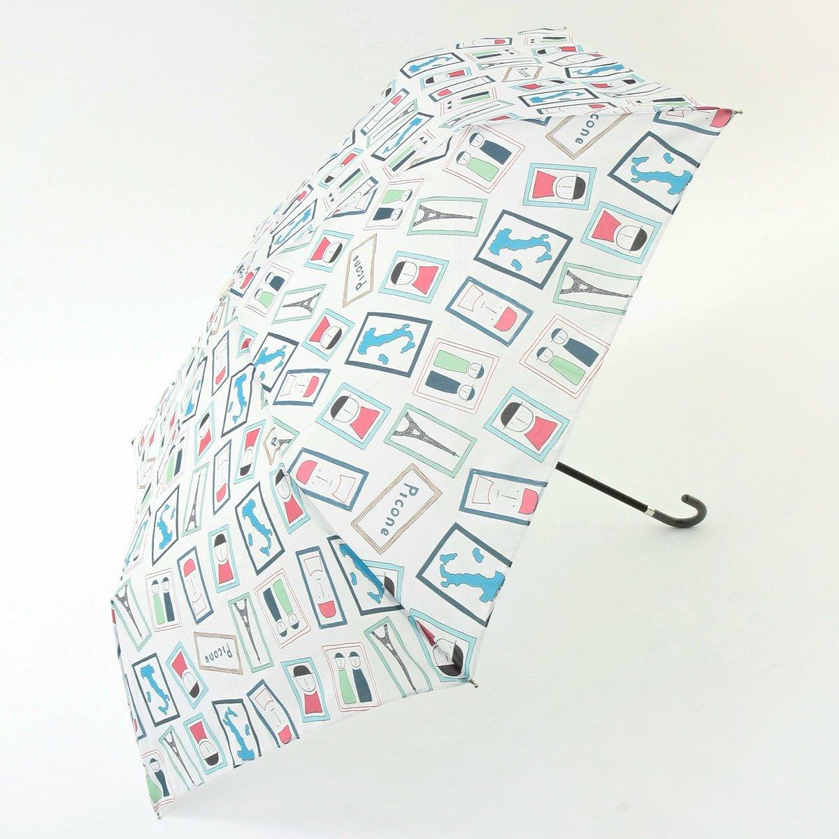 (ピッコーネ アッチェッソーリ) PICONE ACCESSORI 雨用折畳傘 50cm ポリエステル100% マルチ司祭柄 683PI419 B07DK55SWM