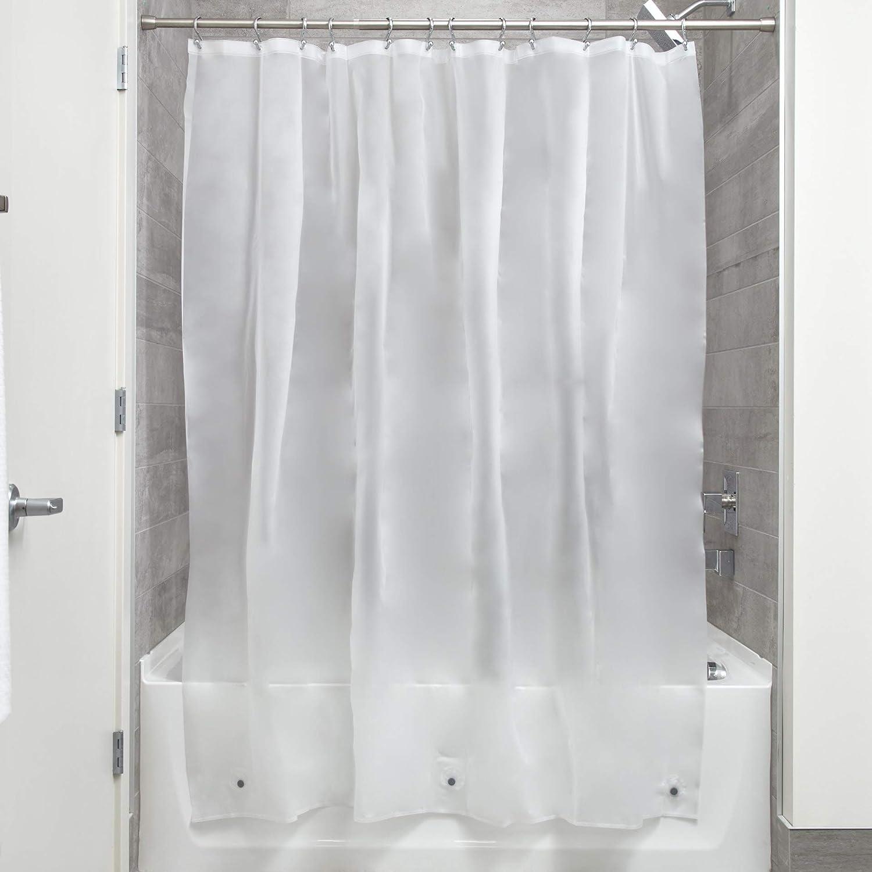 InterDesign Mildew-Free Eva 5.5/Gauge Shower Liner Long 72/x 84 Frost