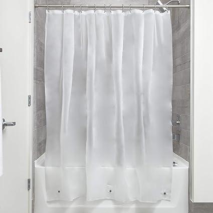 Amazon InterDesign Mildew Free EVA 55 Gauge Shower Liner 72 X