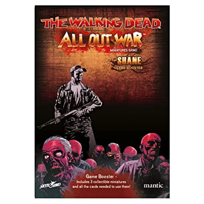The Walking Dead All Out War: Shane Booster: Toys & Games