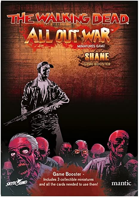 The Walking Dead All Out War Shame Booster: Amazon.es: Juguetes y juegos