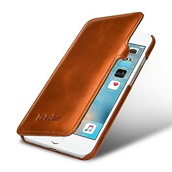 coque iphone 8 plus en cuir veritable