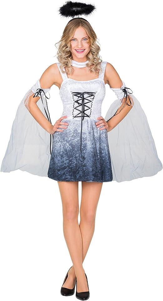 TecTake dressforfun Disfraz para Mujer de ángel | Vestido con ...