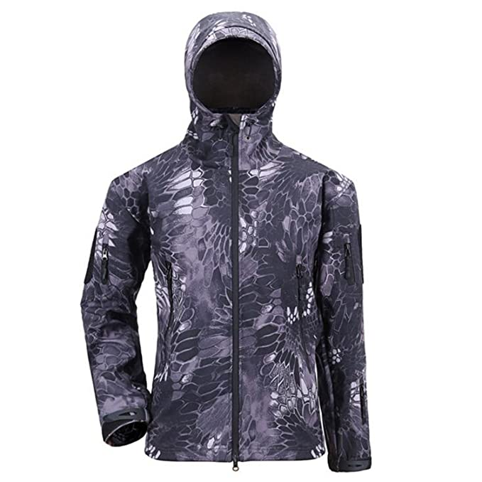 2f53cd54394 EDC-OnSale Army Camouflage Coat Military Jacket Waterproof Windbreaker  Raincoat Hunt Clothes Army Men Outerwear