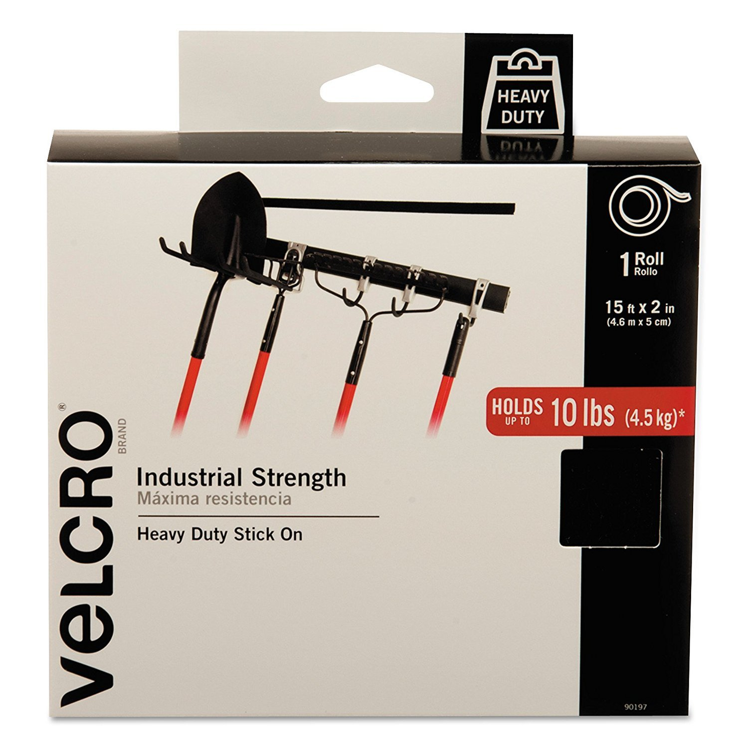 Velcro Brand Industrial Strength Indoor Outdoor 3x3 Super Set Circuit Workout Working It Out Pinterest Use Heavy Duty Superior Holding Power On Smooth Surfaces Size 15ft X 2in Tape