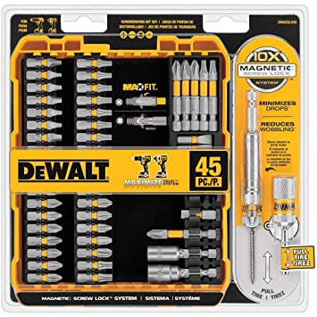 DEWALT MAXFIT Screwdriving Set 36 Piece Impact Ready