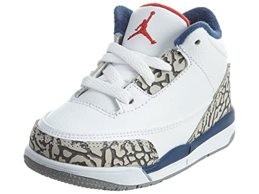 90e162cd27f ... discount nike air jordan 3 toddler true blue 832033 106 white cement  grey true 58b50 b74ef