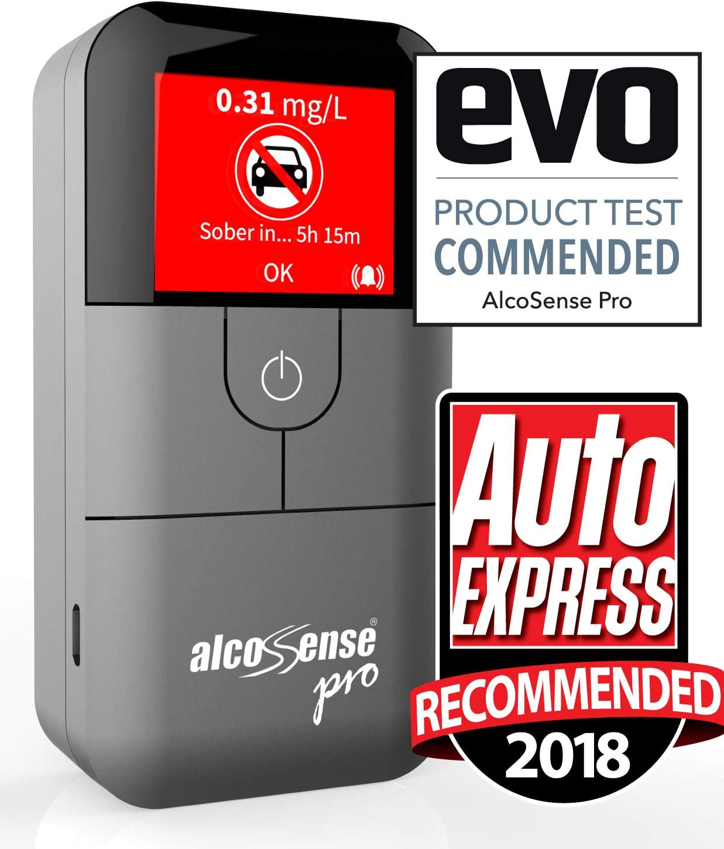 AlcoSense Pro Fuel Cell Breathalyser UK Europe World Professional Breathalyzer