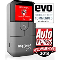 "AlcoSense Pro Fuel Cell Breathalyser/Breathalyzer & Alcohol Tester - Sunday Times - Rating: 5 Stars""Impressively Accurate"" & Auto Express 2018 Recommended"