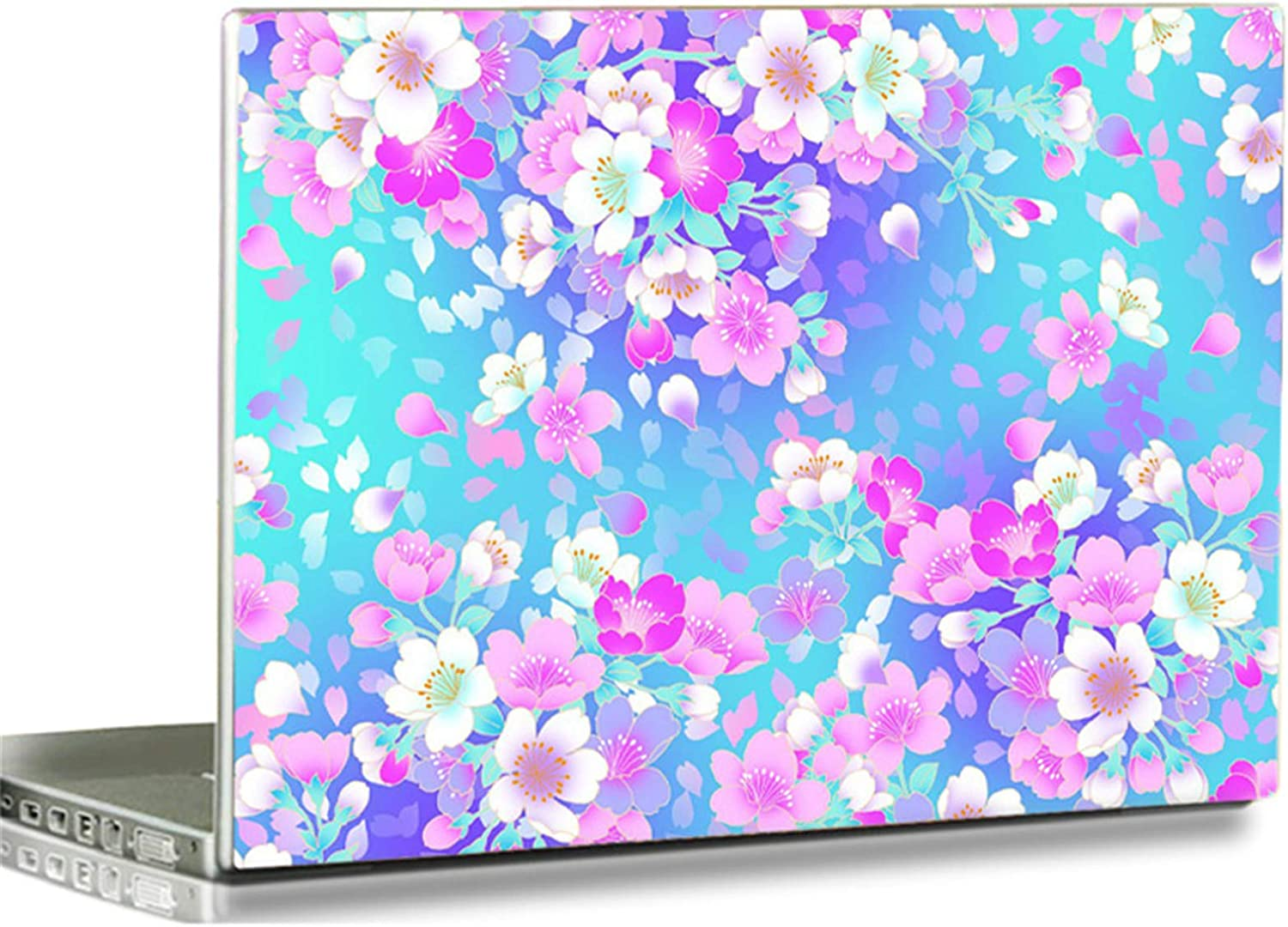 "Baocool 15 15.6 inch Laptop Notebook Skin Vinyl Sticker Cover Decal Fits 12"" 13.3"" 14"" 15.6"" 16"" HP Samsung Lenovo Apple Mac Dell Compaq Asus Acer Laptop Notebook PC (Beautiful Flower)"