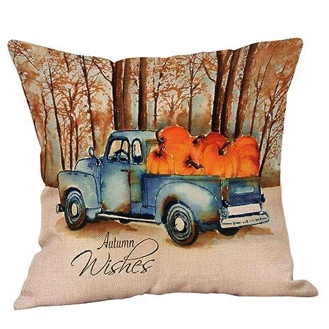 Fossrn Fundas Cojines 45x45 Halloween Decorativo, Patrón de ...