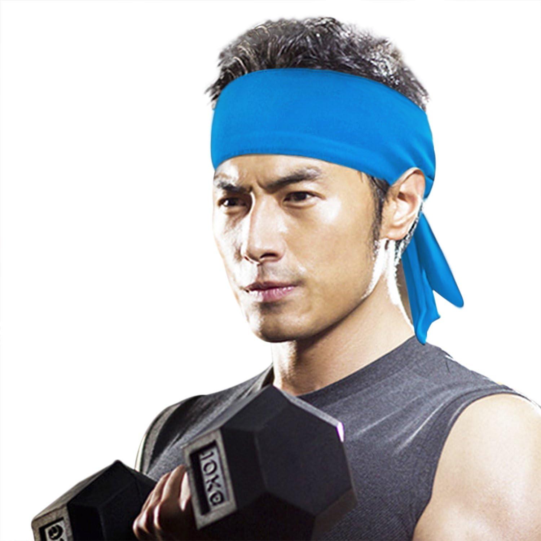 Afinder Sport Stirnband Herren Damen Stirnb/änder Headband Atmungsaktiv Elastische Haarband Schwei/ßband Kopfband Kopfbedeckung f/ür Yoga Tennis Fahrrad Running Fitness