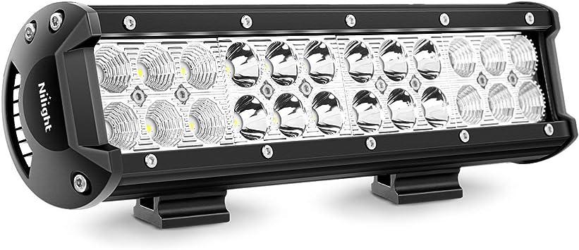 """10/"""" 3 cm x 30 cm DEL Work Light Bar 12 V 24 V Flood Spot Combo Beam Off Road Lampe"""