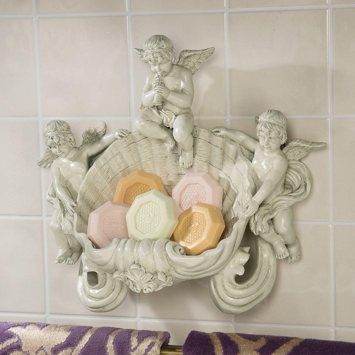 Design Toscano The Cherub Font Wall Sculpture EU14817