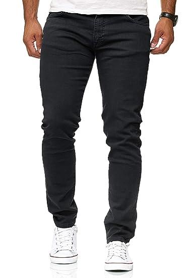Red Bridge Herren Jeans Hose Slim-Fit Röhrenjeans Denim Colored