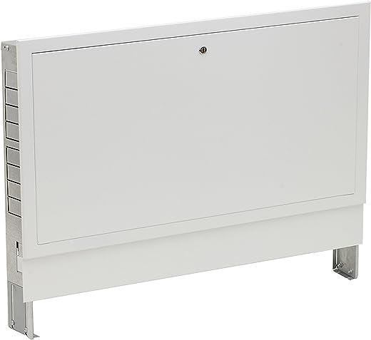 Verteilerschrank Unterputz bis max.12 Heizkreise zur Selbstmontage für Fussbodenheizung