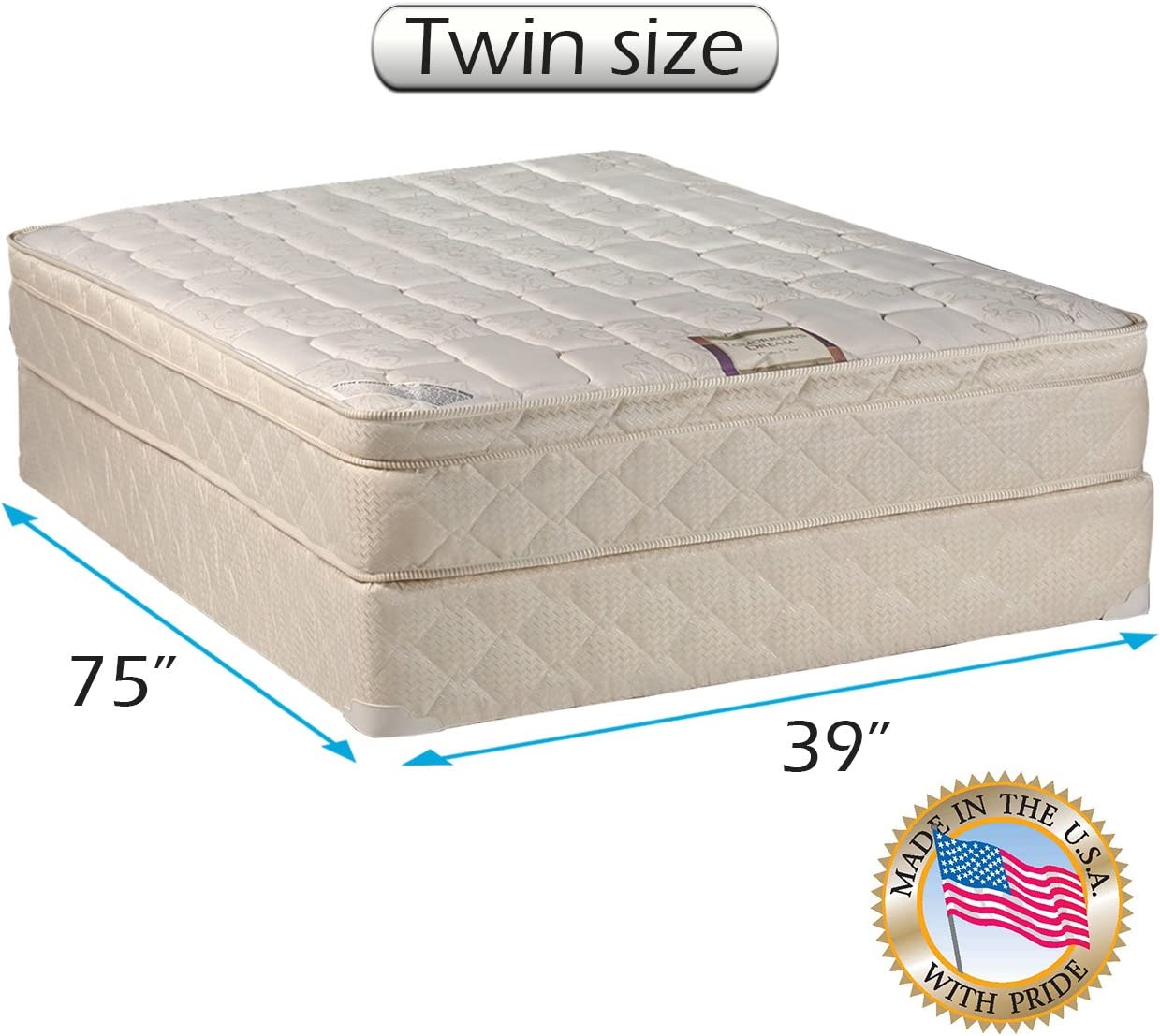 Tomorrows Dream  Mattress twin XL 39