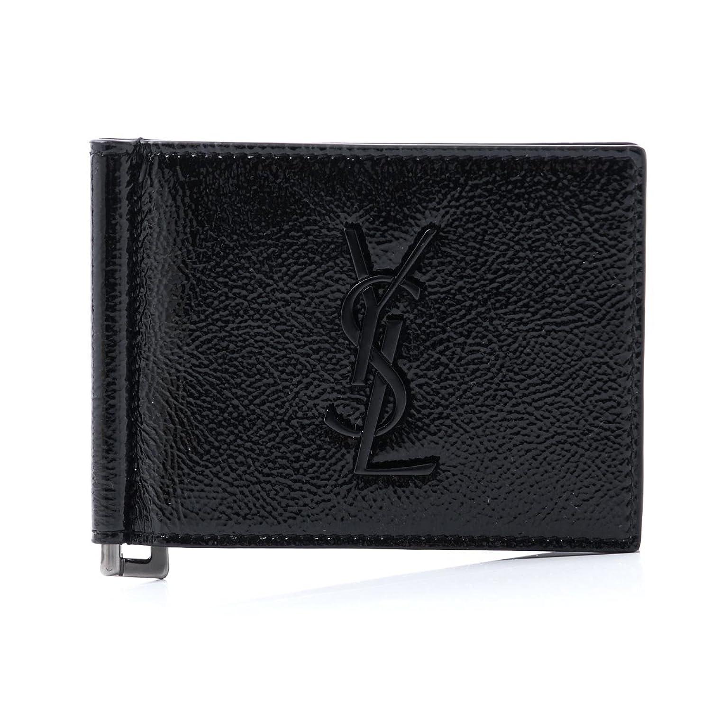 (サンローランパリ) SAINT LAURENT PARIS 二つ折り 財布 モノグラムサンローラン [並行輸入品] B075DLD1XC
