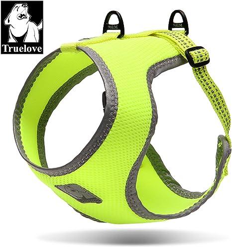 Truelove tlh2511 perro arnés reflectante mascota simplemente de ...