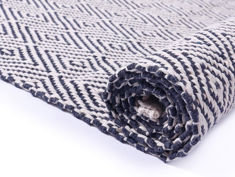 Amazon.com: HEBE Alfombra de algodón extra larga de 2 x 6 ...