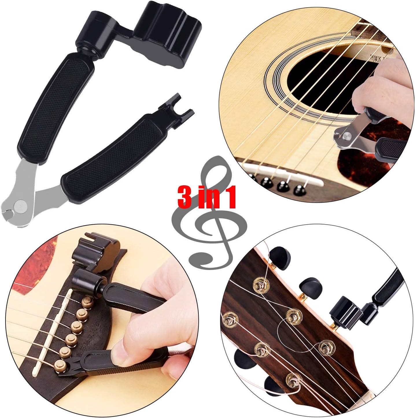 Pinowu - Kit de cambio de cuerdas para guitarra acústica (44 ...