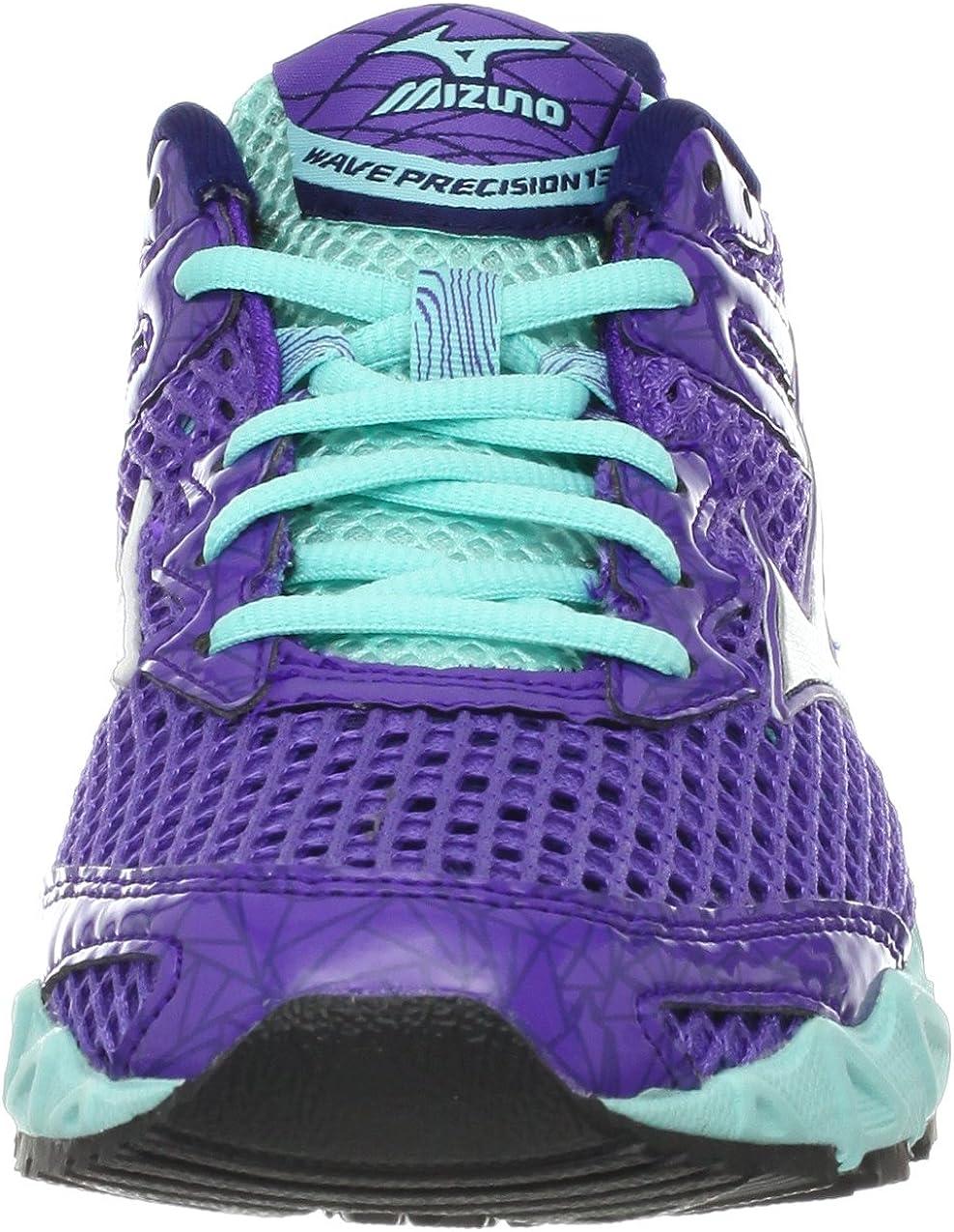 Mizunowave Precision 13-W - Precisión de Onda 13 Mujer, Púrpura (Ultraviolet/Silver/Aruba Blue), M: Amazon.es: Zapatos y complementos