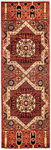 Solo Rugs Serapi Hand Knotted Runner Rug, 2 2 x 5 10 , Carnelian