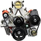 LS Truck Alternator Bracket Low Mount and Power Steering Pump Bracket LSX LS3 LQ4 LQ9 L33 LS3 Billet, 551669-3
