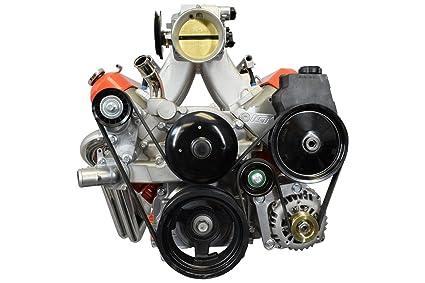 LS Truck Alternator Bracket Low Mount and Power Steering Pump Bracket LSX  LS3 LQ4 LQ9 L33 LS3 Billet 551669-3