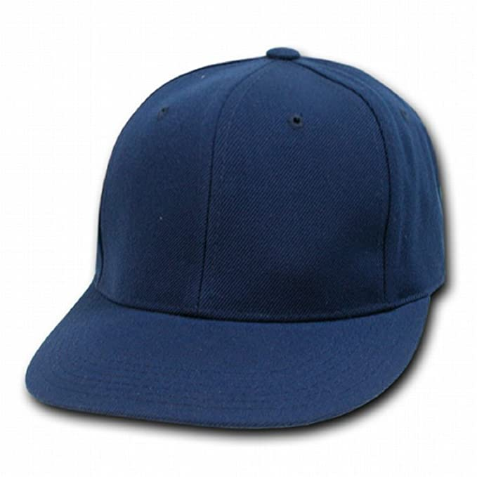 9ef71e23616 Image Unavailable. Image not available for. Color  DECKY NAVY Retro Fitted  Baseball Caps ...