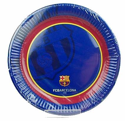 Mayal Pack 6 platos 20cm FC Barcelona