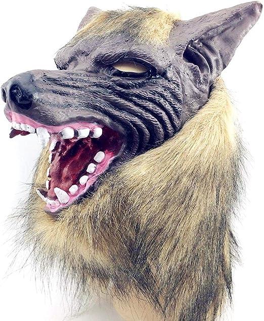 Lobo Malo con Guantes De Garra Máscara Máscara De Halloween Nuevo ...